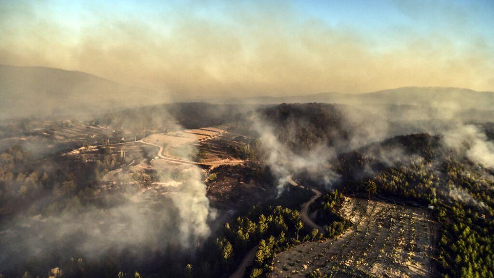 Incêndios não dão tréguas na Turquia
