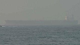 """ناقلة النفط """"ميرسر ستريت"""" راسية في الفجيرة، 4 أغسطس 2021"""
