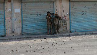 مواجهة بين طالبان وقوات الأمن الأفغانية في مقاطعة هرات، غرب كابول، أفغانستان، الثلاثاء 3 أغسطس 2021