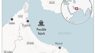 Umman Körfezi'nde kaçırılan gemi