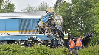 Accidente de tren en República Checa
