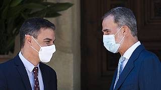 König Felipe empfängt Ministerpräsident Sanchez auf Mallorca