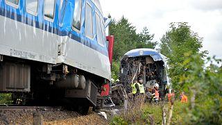 Çekya'da tren kazası