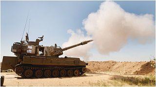 مدفعية الجيش الإسرائيلي