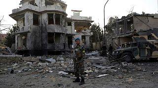 حمله طالبان در کابل