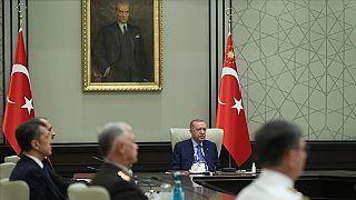 Erdoğan başkanlığındaki Yüksek Askeri Şura (YAŞ) toplantısı