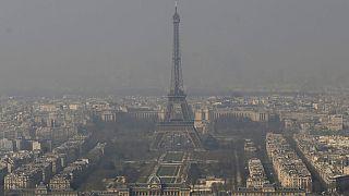 Episode de pollution de l'air à Paris (mars 2014)