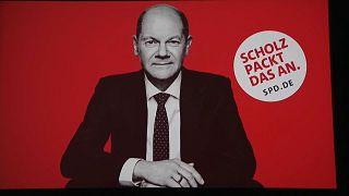 Wahlkampfplakat der SPD