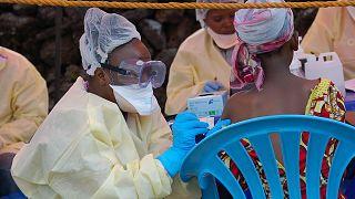 Congo'da aşı programı