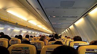 عکس تزیینی از یک پرواز