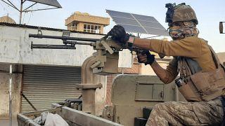 ABD uçakları, Afganistan'da Taliban'ın silah ve mühimmat deposunu bombaladı
