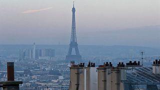 آلودگی هوا در شهر پاریس