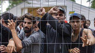 Το κέντρο κράτησης μεταναστών στη Λιθουανία