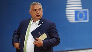 Orbán Viktor miniszterelnök Brüsszelben, 2021. június 25-én