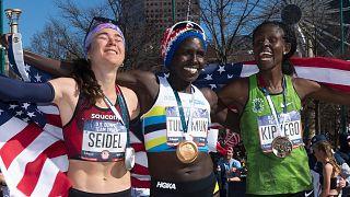 JO Tokyo : Tuliamuk vise l'or au marathon sept mois après un accouchement