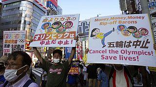 Az olimpia idején is folyamatos a tiltakozás