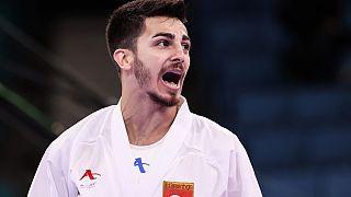 Olimpiyatlara ilk kez 2020 Tokyo Olimpiyat Oyunları ile giren karatede, erkekler kumite 67 kiloda Eray Şamdan, yarı finale çıkarak olimpiyat madalyasını garantiledi
