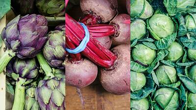 Artichokes, beetroots and cabbage will all be in season in the UK for the conference in November.