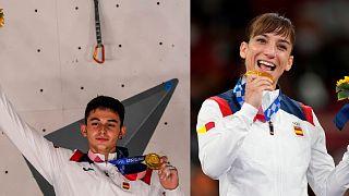 Alberto Ginés y Sandra Sánchez han conseguido dos oros en el mismo día para España