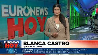 Blanca Castro presenta este jueves Euronews Hoy