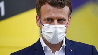 "Emmanuel Macron hatte den Kampf gegen Corona als ""Krieg"" bezeichnet"