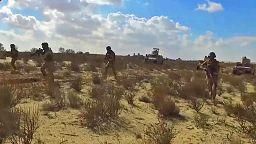 """العفو الدولية تطالب مصر بالتحقيق في فيديو نشره الجيش يظهر """"إعدامات خارج نطاق القضاء"""""""