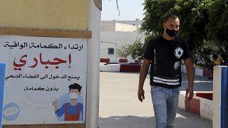 Siralmas COVID-helyzet Tunéziában
