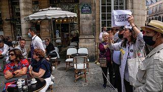 بیماری همهگیر کرونا در فرانسه