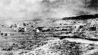 ABD'nin 6 Ağustos 1945'te atom bombası ile vurduğu Japonya'nın Hiroşima kenti
