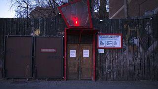 """Eingang zur """"Wilden Renate"""", 25.03.2020"""