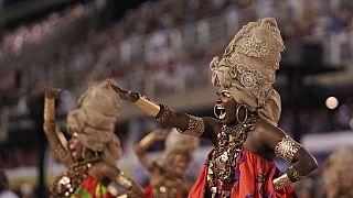 Imagen de archivo del Sambódromo de Río durante el Carnaval de 2020.