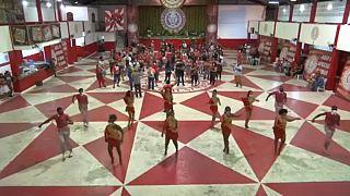 Ecole de samba Padre San Miguel de Rio de Janeiro