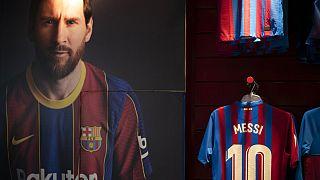 Messi é uma das imagens de marca do Barça
