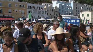 Turismo in ripresa a Capri, una delle prime mete Covid free in Italia