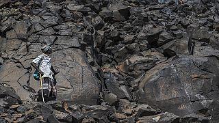 Les gravures rupestres cachées d'Abourma à Djibouti