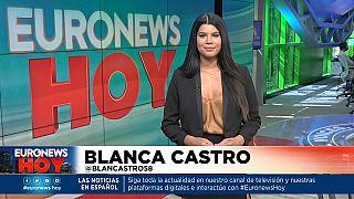 Blanca Castro presente este viernes Euronews Hoy