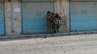 درگیریها بین نیروهای دولتی و گروه طالبان در افغانستان