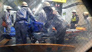 Нападение с ножом в токийском метро