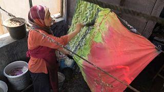 Egyptian designer strives to revive the art of Batik
