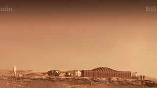 نمونه اولیه از طرح ساخت محیط شبیهسازی شده از مریخ