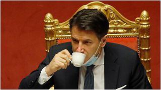 رئيس الوزراء الايطالي السابق جوزيبي كونتي يبدأ ممارسة مهامه رسميا رئيسا جديدا لحركة خمس نجوم التي تهيمن على البرلمان