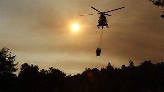 Athén környékén javult a helyzet, de máshol tovább pusztít az erdőtűz