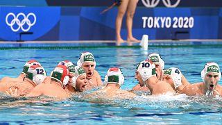A magyar csapat a bronzmeccsen