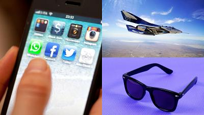 Apple is tackling child abuse images, Virgin Galactic starts selling tickets and Ray-Ban plans to make smart sunglasses.
