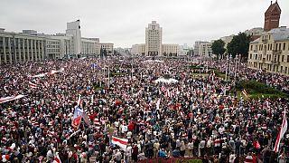 La grande protesta di Minsk del 23 agosto 2020