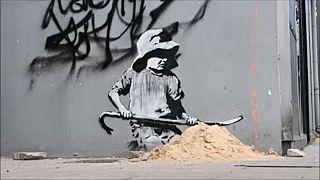 Βρετανία: Ο Banksy «ξαναχτύπησε»