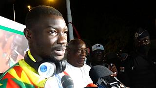 Triumphant return for Zango after giving Burkina Faso its first Olympic medal