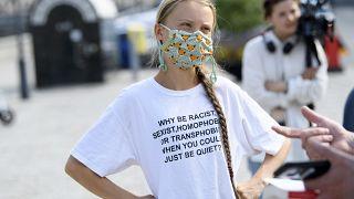 Greta Thunberg capa da Vogue