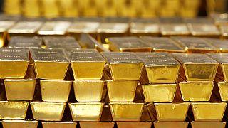 Der Goldpreis fällt und fällt