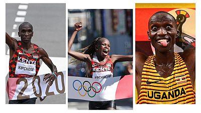 Les meilleurs athlètes africains des JO de Tokyo 2020